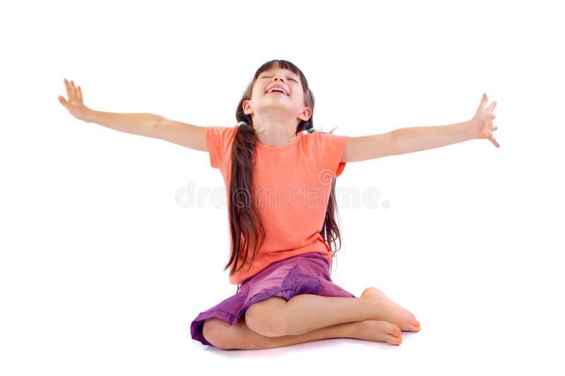 girl happy στοκ φωτογραφία με δικαίωμα ελεύθερης χρήσης