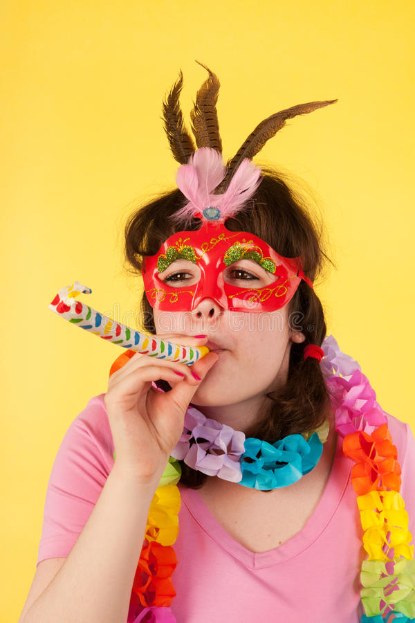 Download Girl Is Having A Stunning Birthday Royalty Free Stock Image - Image: 26646826