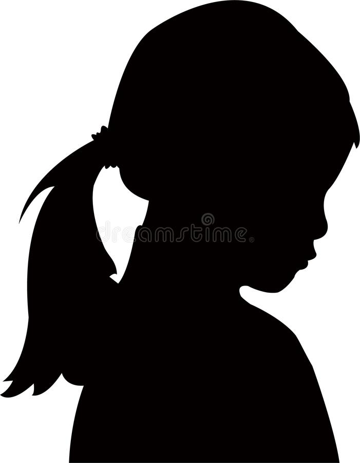 writing a letter for head girl silhouette