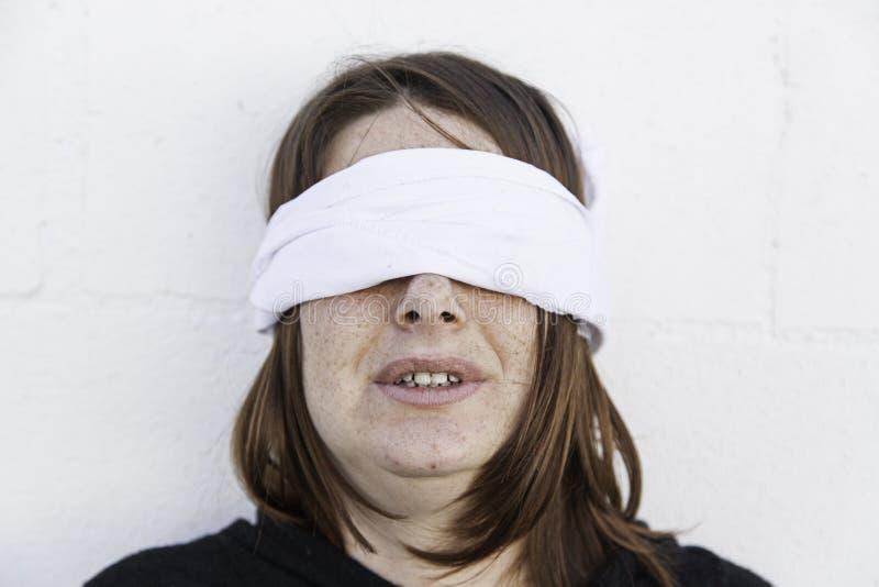Girl with headband stock photography