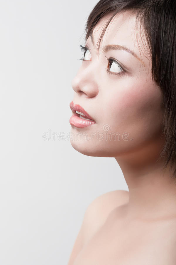 Download Girl with healthy skin stock photo. Image of orient, charm - 12220372