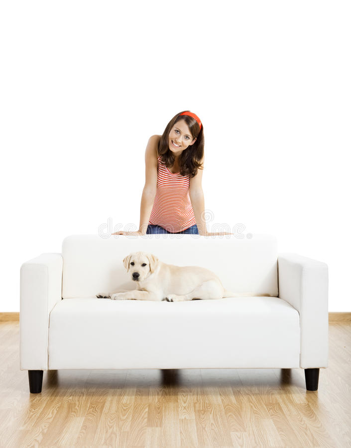 Download Girl With Her Best Friend Stock Photo - Image: 11814430