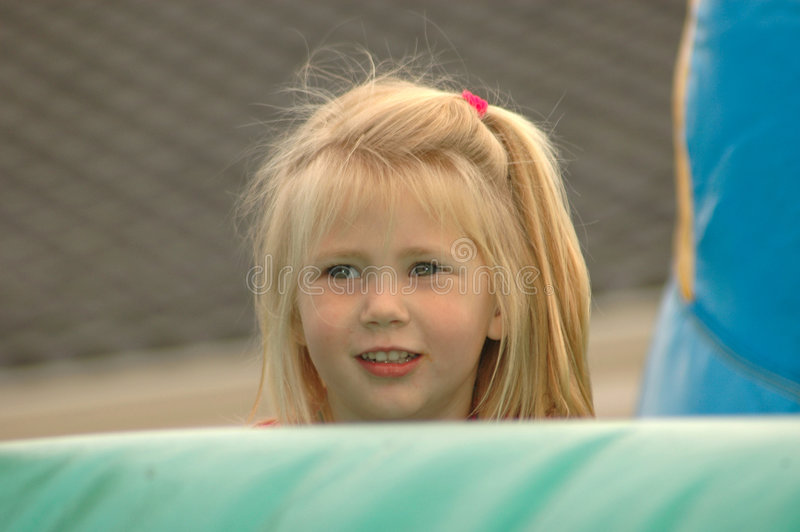 Download Girl Hiding Stock Image - Image: 3221881