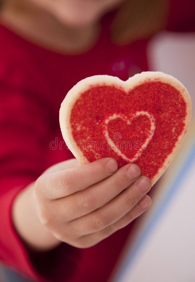 Download Girl Holding Cookie Stock Photos - Image: 7971833