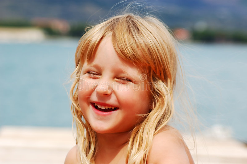 Download Girl on a holidays stock photo. Image of expression, send - 1463280