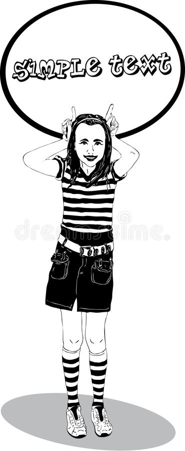 Download Girl With Horns Royalty Free Stock Photo - Image: 17016535