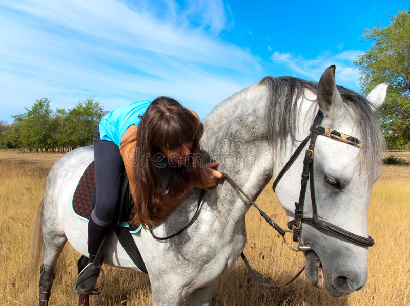 Download Girl On A Horse Royalty Free Stock Photo - Image: 16310345
