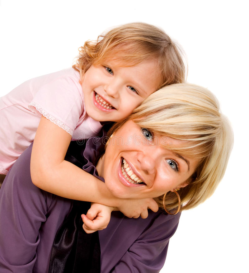 Download Girl hugging a mother stock image. Image of enjoy, lifestyle - 12359817