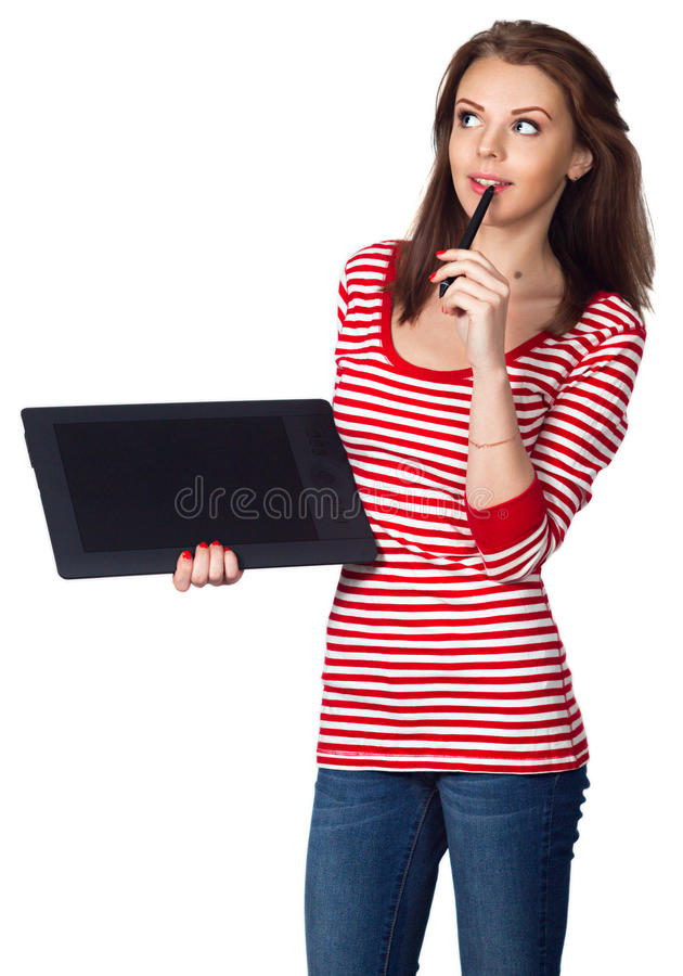 Free Girl Idea Stock Photo - 52466730
