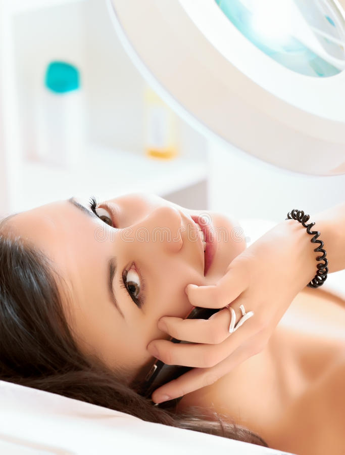 Free Girl In A Beauty Salon Stock Images - 17634674