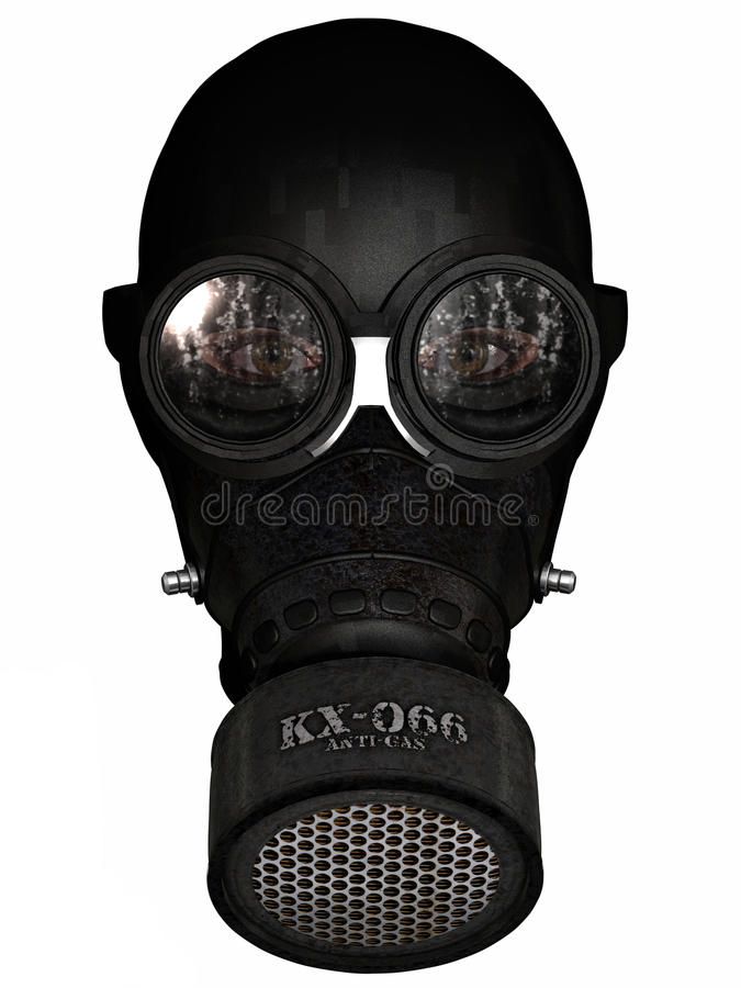 Free Girl In Gasmask Stock Images - 19894184
