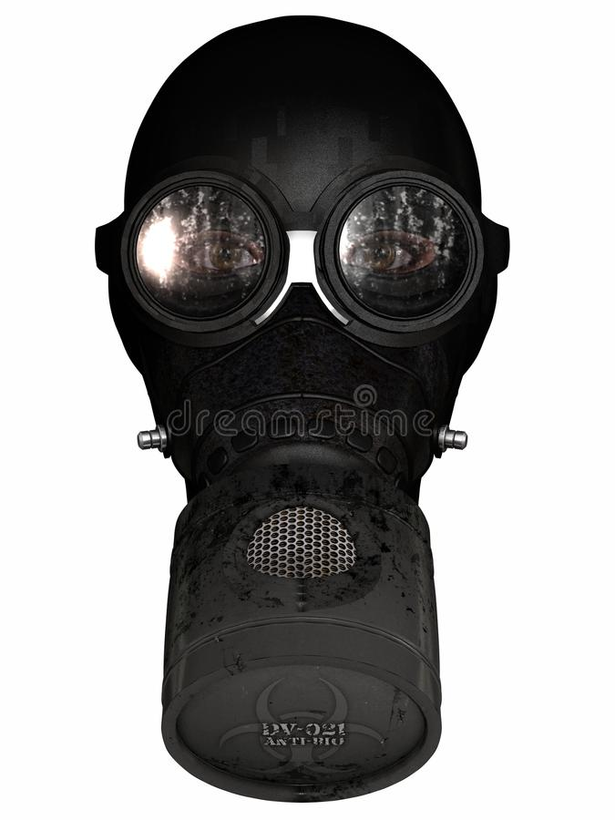 Free Girl In Gasmask Royalty Free Stock Images - 19894209