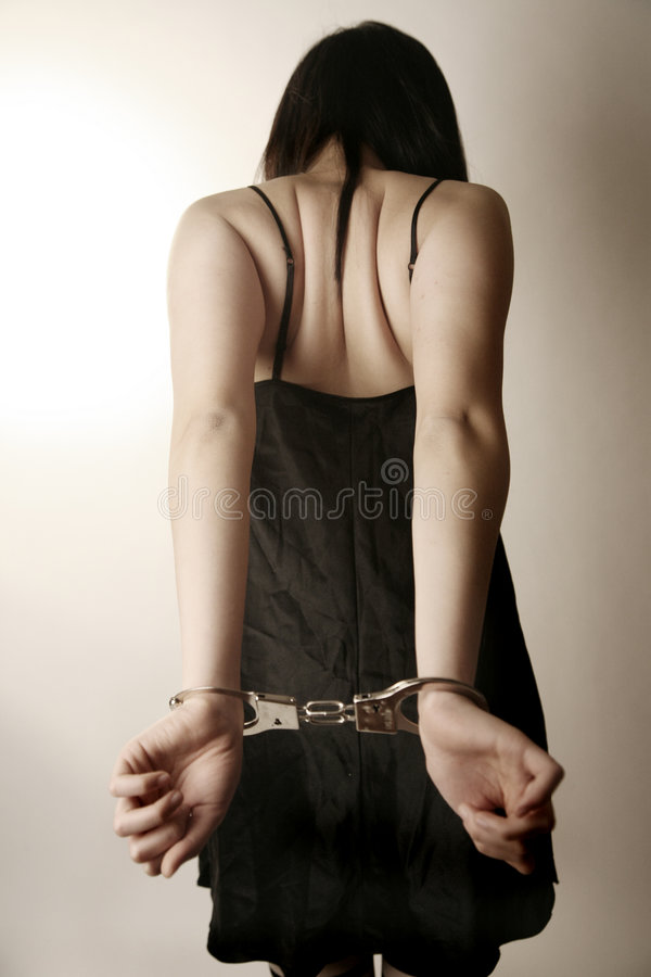 Free Girl In Handcuffs Stock Images - 2393854