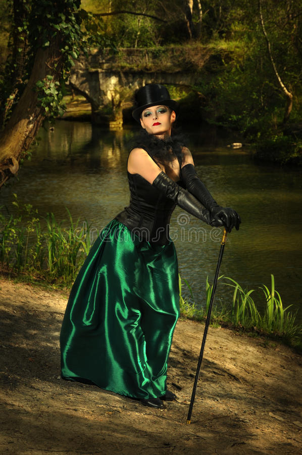 Free Girl In Top Hat Royalty Free Stock Photos - 33669518