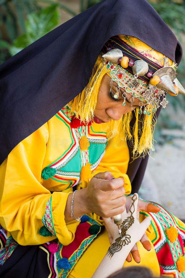Free Girl In Traditionally Berber Clothes. Royalty Free Stock Photography - 80076317