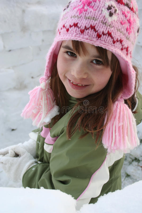 Free Girl In Winter Clothes Stock Photography - 16705572