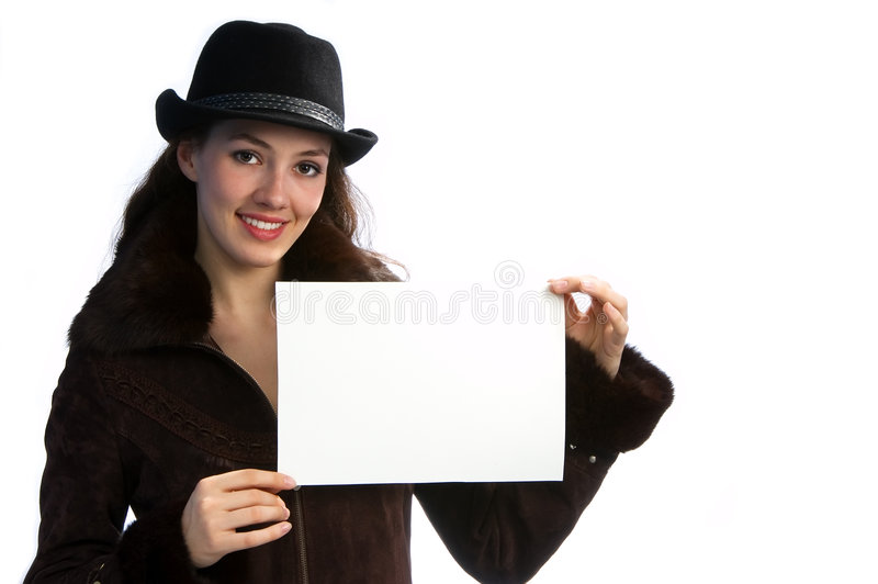 Download Girl with jacket and hat 1 stock photo. Image of jacket - 2224172