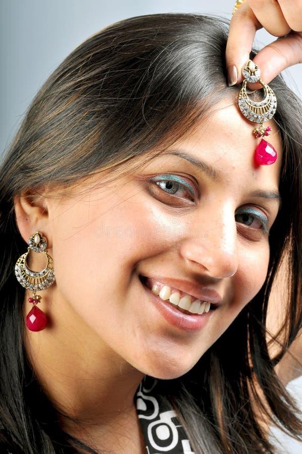 Girl with jewellery