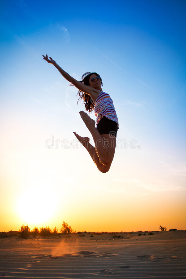Download Girl Jump High Royalty Free Stock Photos - Image: 25849078