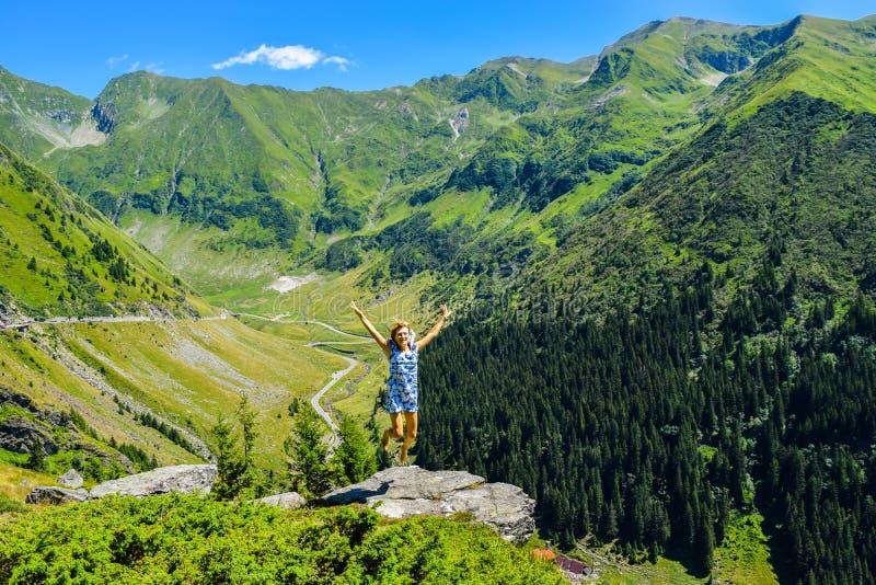 Transfagarasan mountain road. royalty free stock image