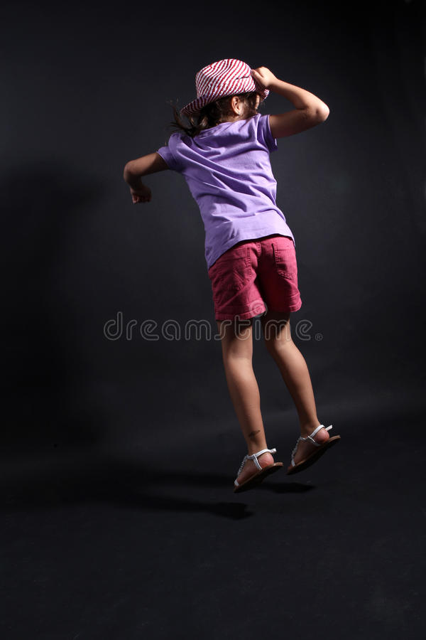 Download Girl jumping stock image. Image of jump, active, photo - 16555055