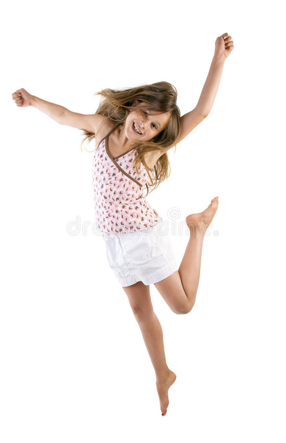 Download Girl Jumping Stock Photography - Image: 26484692