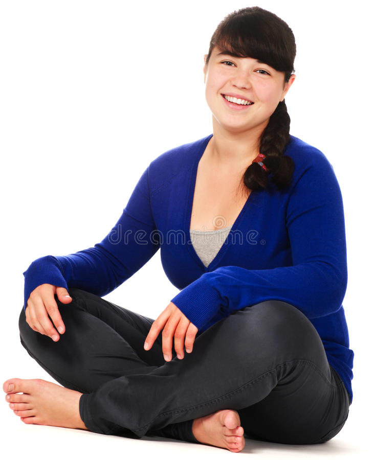 girl laughing teenage стоковое изображение rf
