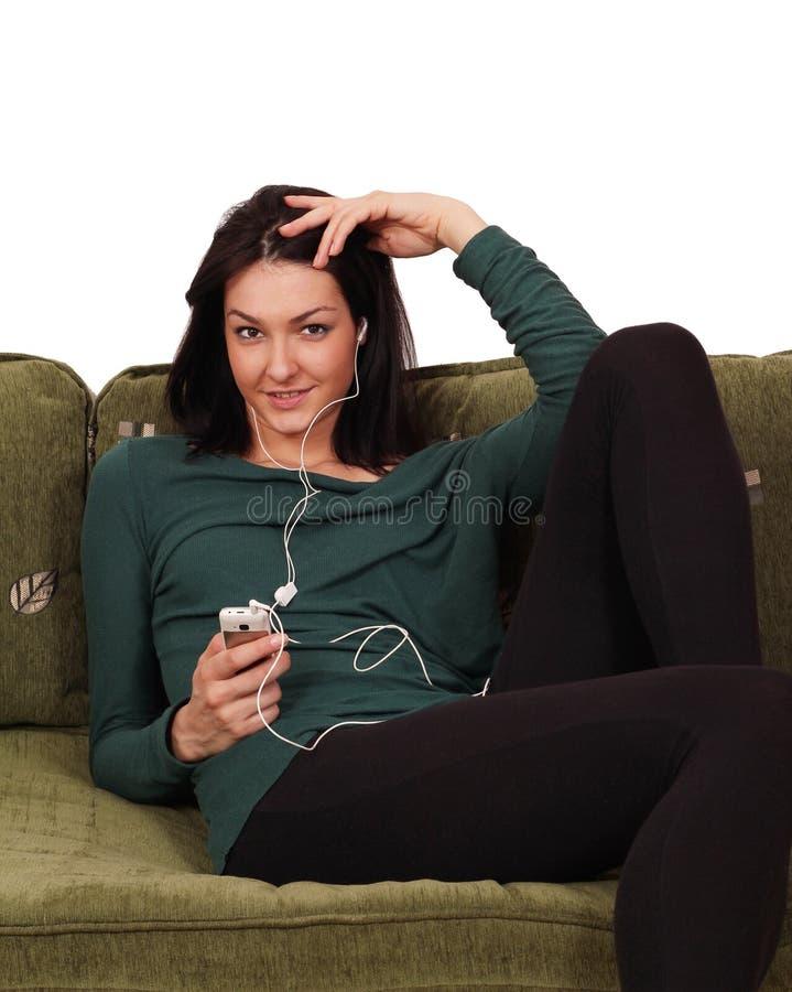 Download Girl Listening Music Stock Image - Image: 23851121