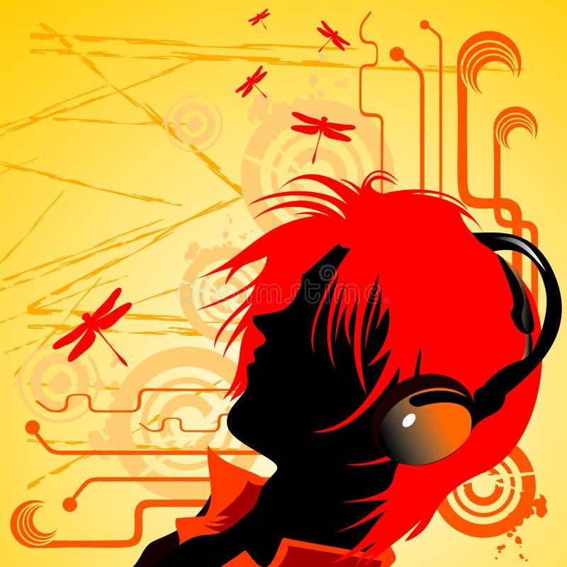 Free Girl Listening Music Stock Images - 5040184