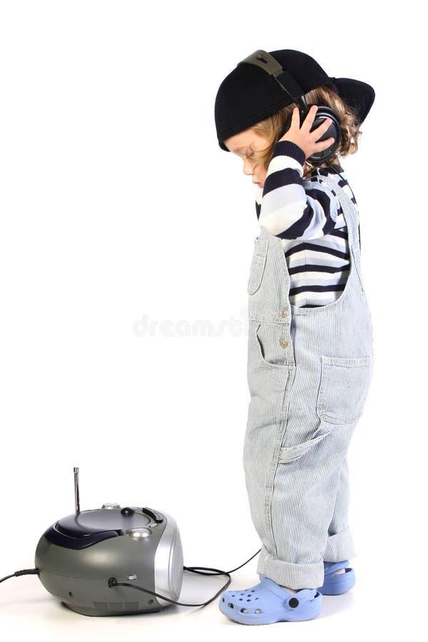 Free Girl Listening Music Stock Photography - 6593982