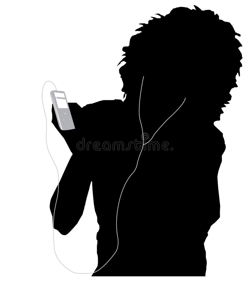 Free Girl Listening Music Royalty Free Stock Image - 6782146