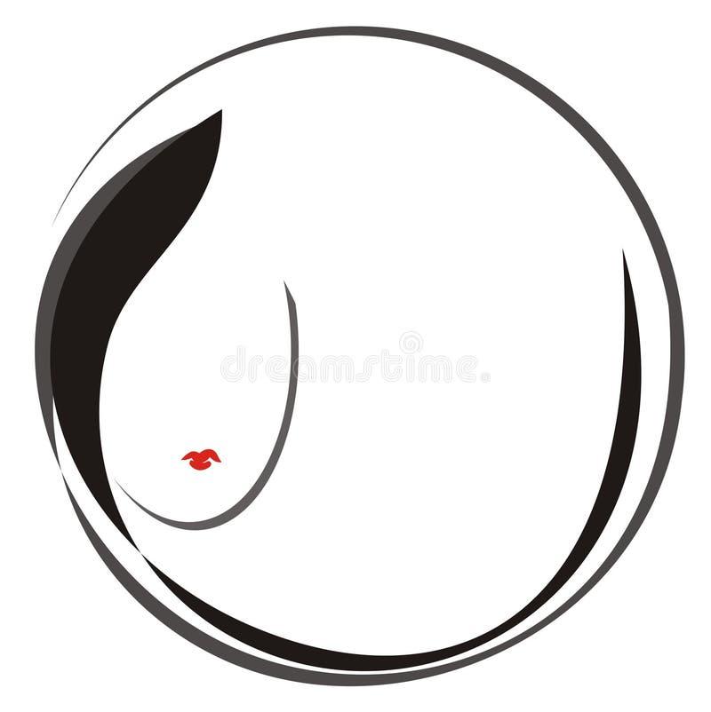Download Girl logo stock vector. Image of care, girl, fashion - 16618273