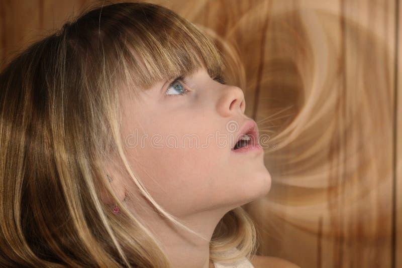 Girl Looking Upward Free Public Domain Cc0 Image