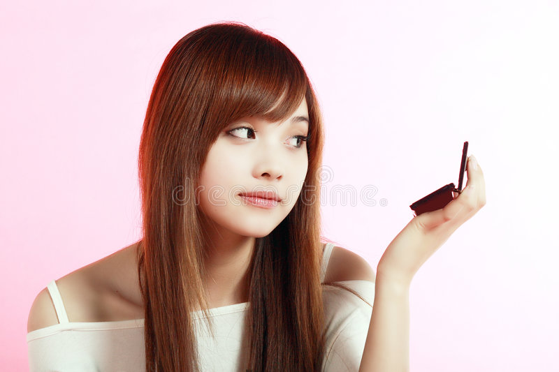 Download Girl Making Up. Royalty Free Stock Photos - Image: 7543388