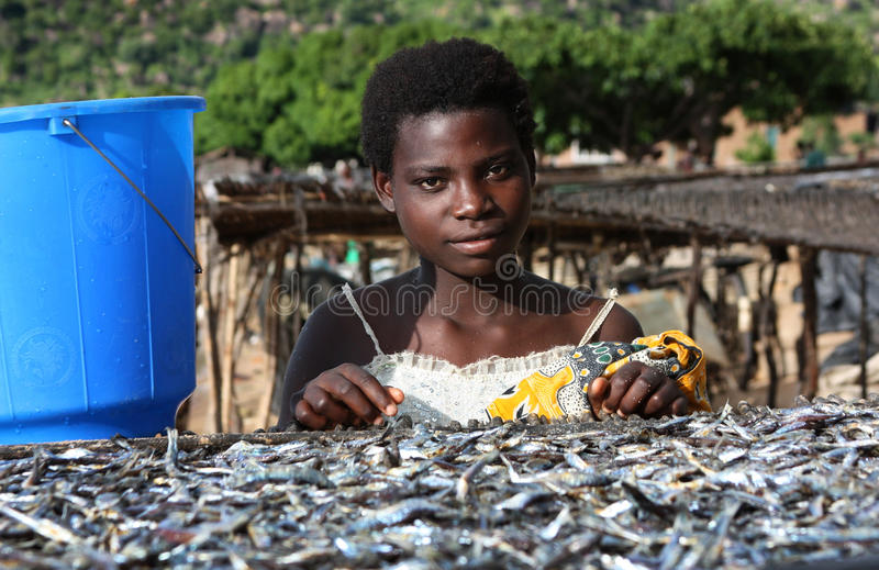 Download Girl in Malawi, Africa editorial image. Image of third - 16832465