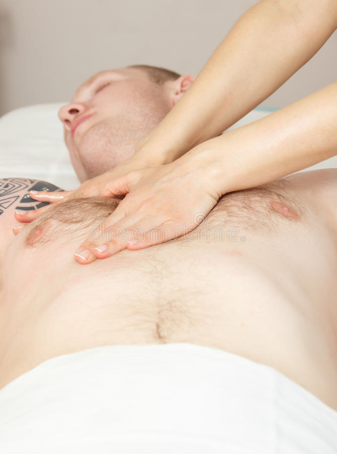 Download Girl Masseuse Doing Massage Stock Image - Image of relaxation, female: 39512987