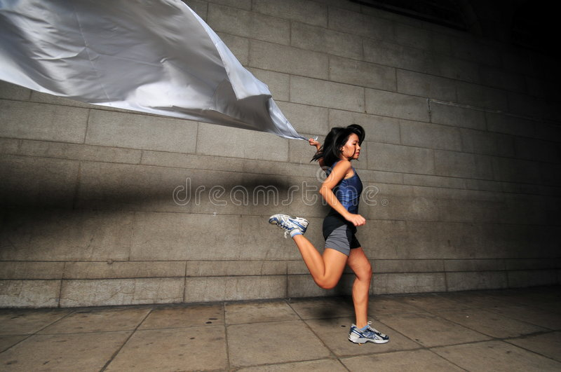 Download Girl in Motion 14 stock image. Image of free, motion, jump - 6081183