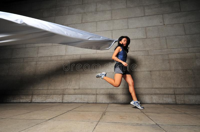 Download Girl in Motion 19 stock photo. Image of slow, girl, motion - 6081300