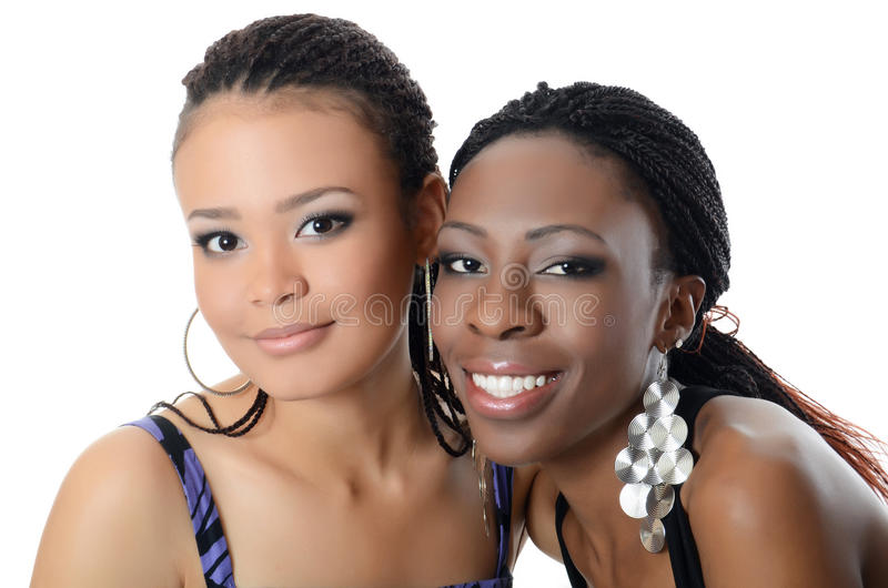 Download The Girl The Mulatto And The Black Girl Stock Image - Image: 27439295