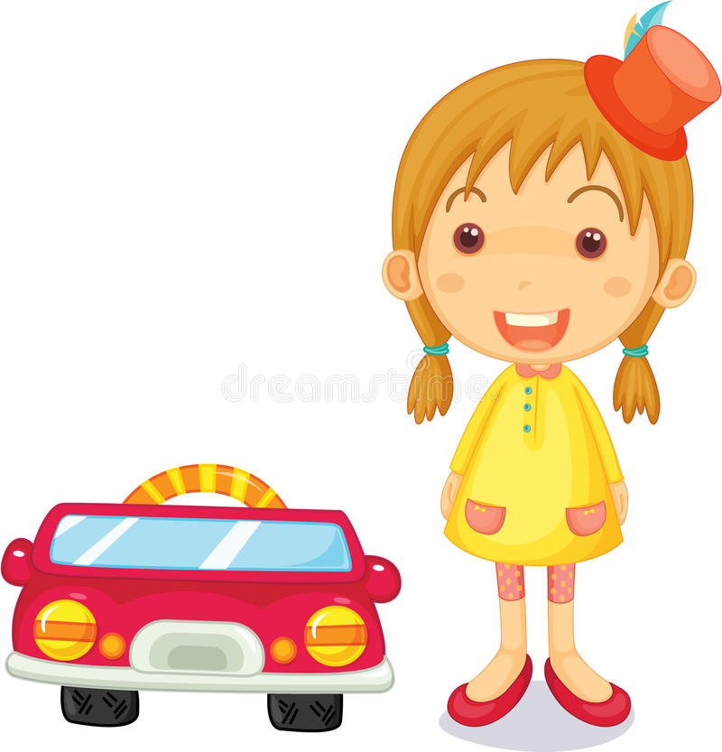Download A Girl Next To Car Royalty Free Stock Photo - Image: 14764425
