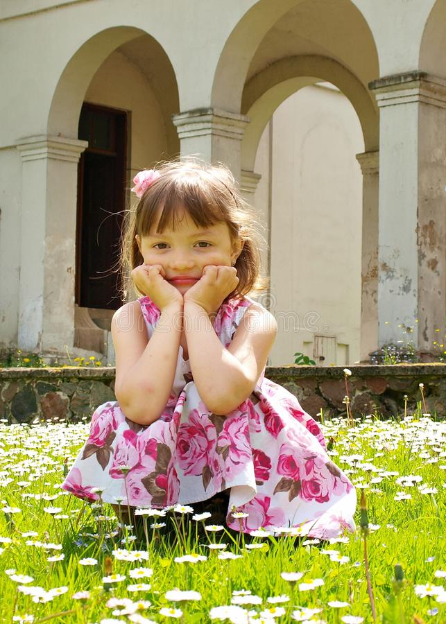 Free Girl On The Grass Royalty Free Stock Image - 19923736