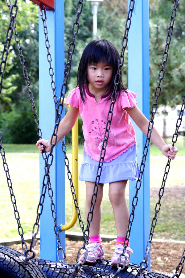 Download Girl at the park stock image. Image of play, young, sunny - 10926709