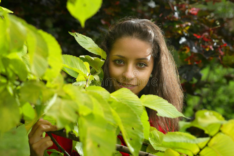 Download Girl In  Park Stock Photos - Image: 11718753