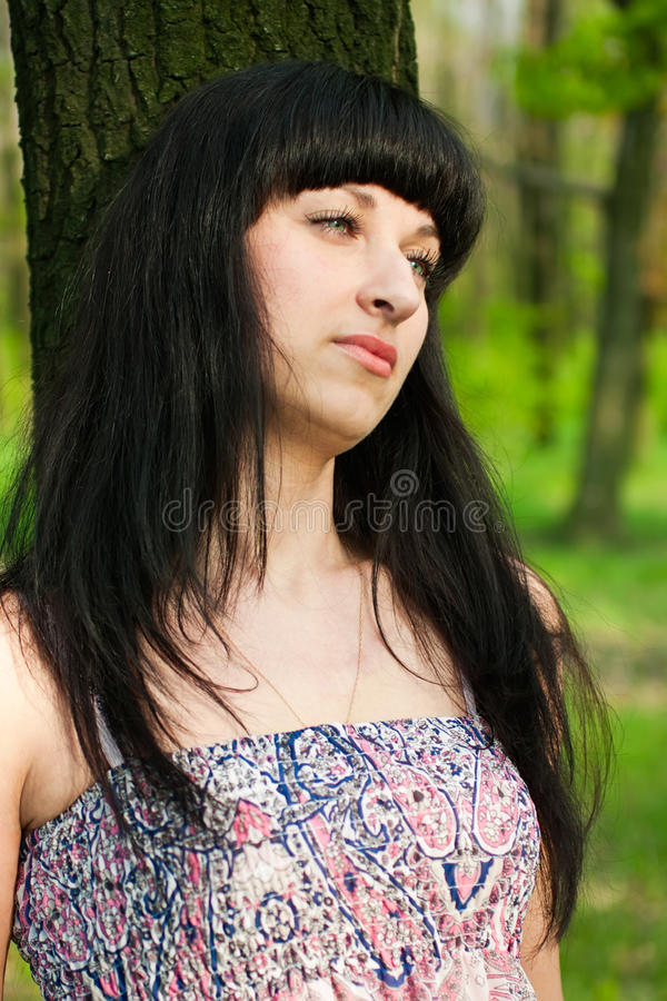Download Girl in the Park stock image. Image of glamor, girl, pretty - 20029913