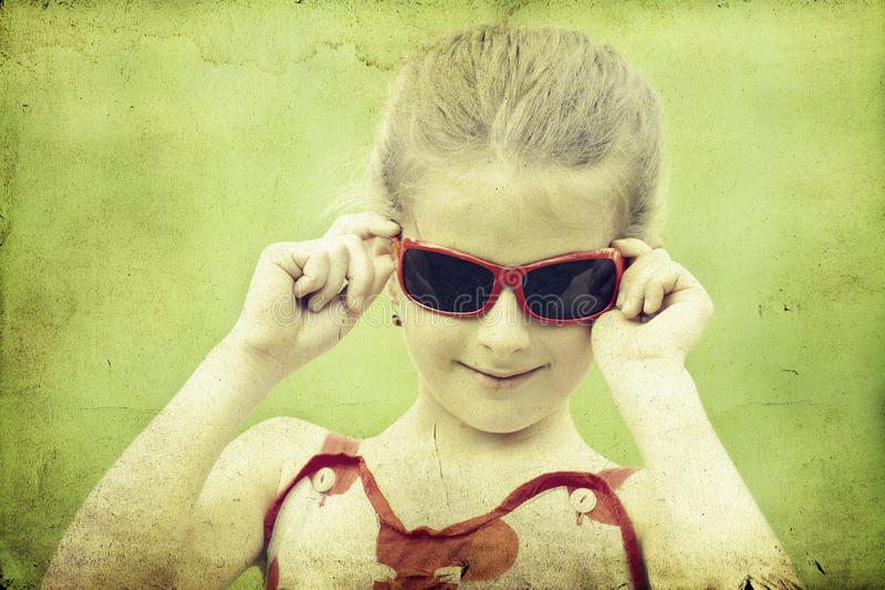 Download Girl In The Park-vintage Photo Stock Image - Image: 31030489