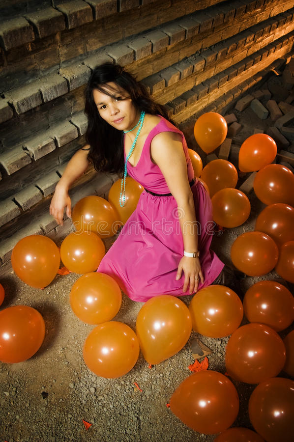 Download Girl after Party stock photo. Image of building, floor - 11782354