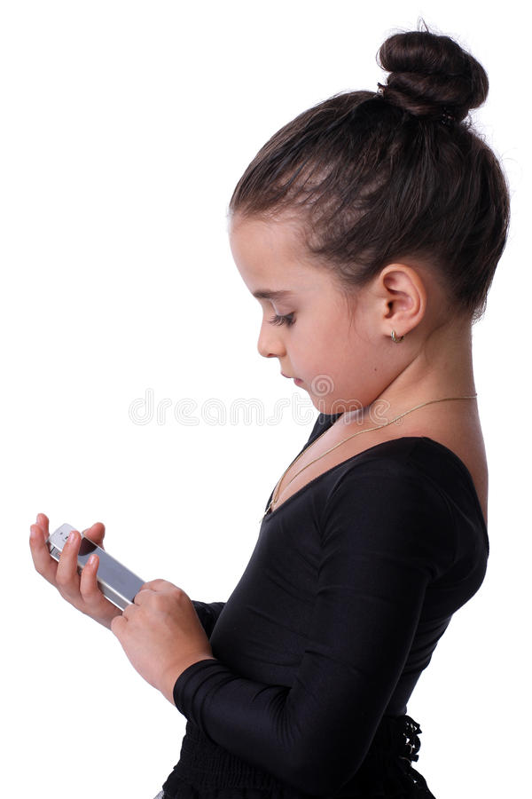 Download Girl With Phone Royalty Free Stock Photo - Image: 26404005