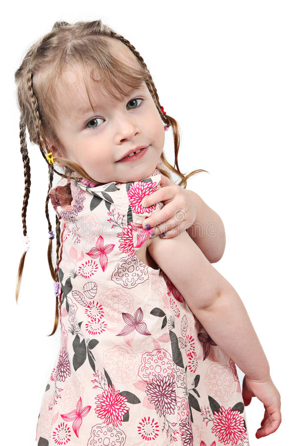 Download Girl With Plasters On Fingers Stock Image - Image: 14237283