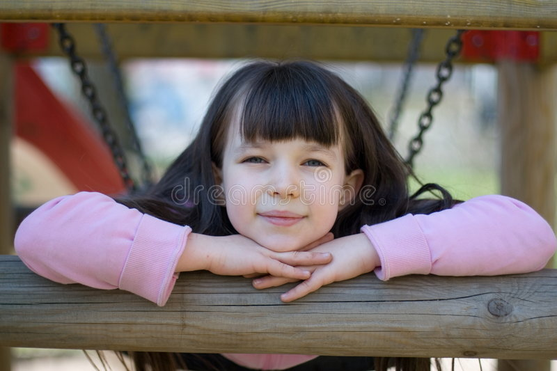 Download Girl on Playground stock photo. Image of park, play, cute - 2191220