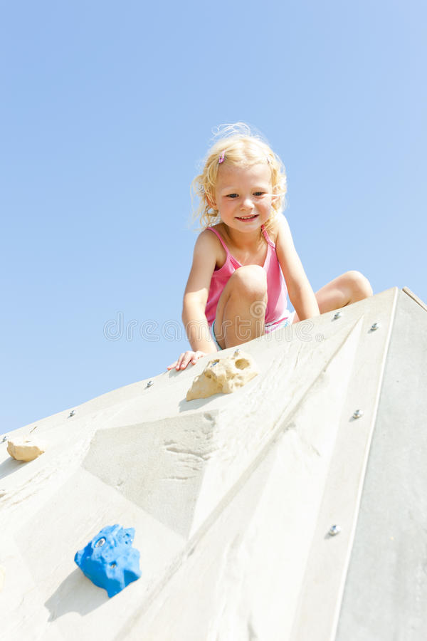 Download Girl at playground stock image. Image of person, positive - 27009829